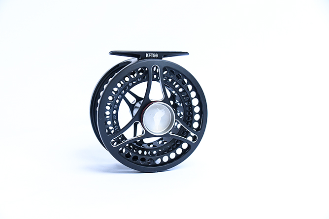fully loaded Kingfisher Fly Reel Front