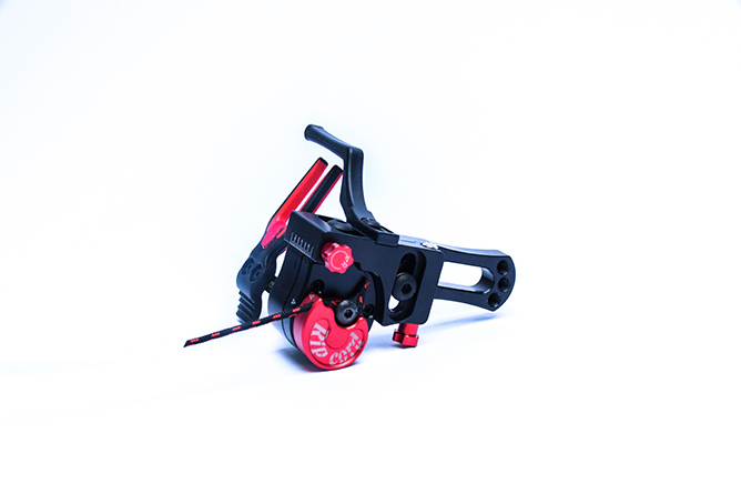 fully loaded Ripcord rest