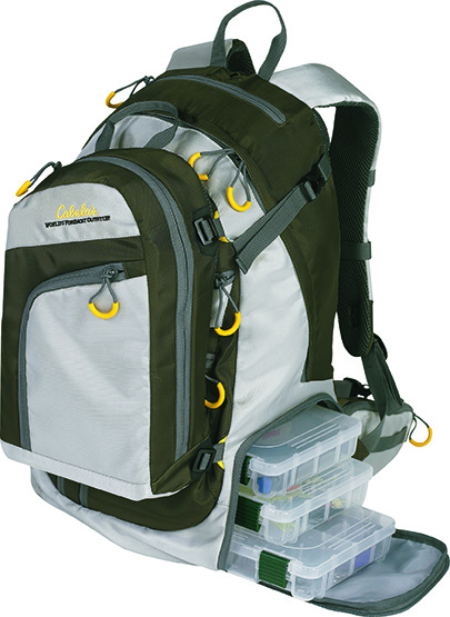 Cabela's Advanced Anglers Backpack The Lunker List: Fishing Gear You Should Buy this Spring