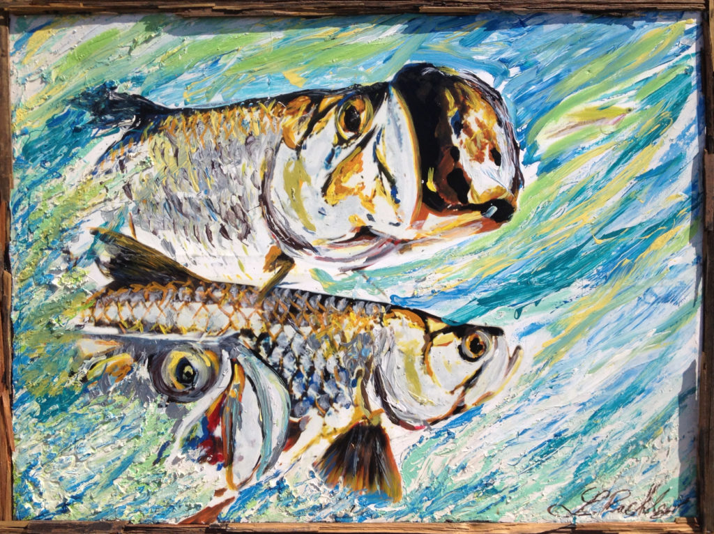 marine art fish painting Larry Rackley pic 3